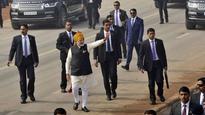 After Republic Day Parade, PM walks down Rajpath amidst chants of 'Modi', 'Modi'