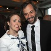 Judd Apatow blows Lena Dunham's b-day