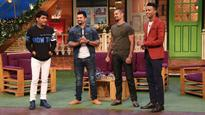 Shikhar Dhawan, Hardik Pandya, Suresh Raina enjoy downtime on 'The Kapil Sharma Show'