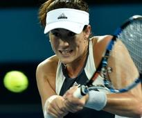 Spain's Muguruza retires injured in Brisbane