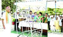 National Song recited at Mantralaya Park