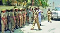 Assam: Angry mob attacks police station