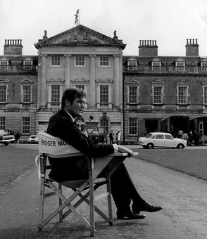 Roger Moore's life in pictures