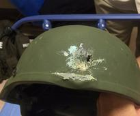 The Kevlar helmet credited with saving an officer's life in the Orlando shooting