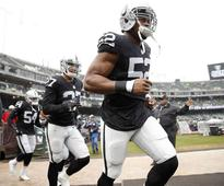 Khalil Mack leads Raiders sack attack