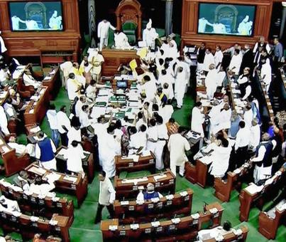 PNB scam, demand for special status for AP stall Parliament