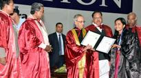 Our institutes of higher learning are lagging behind: Pranab Mukherjee