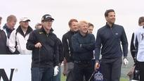 Celebrity golf at Celtic Manor