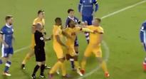 Preston boss slams 'childish' Irish striker Eoin Doyle and team-mate Jermaine Beckford after fight