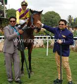 Star Nijinsky makes Hidayat Khan proud
