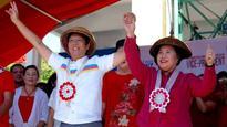 Shared candidates comprise Santiago-Marcos Senate slate