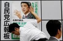 Japan PM campaigns on