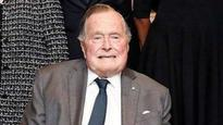 George Bush hospitalized days after wife's death