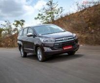 Toyota Innova Crysta: Special Coverage
