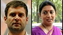 Rahul Gandhi begins campaign in North Gujarat; start worrying about Amethi, says Smriti Gandhi