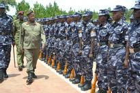President promotes over 300 police officers ahead of February elections