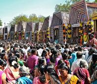 Processions taken out in Nellai
