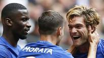 Premier League 2017-18: Marcus Alonso scores a brace as Chelsea beat Tottenham Hotspur