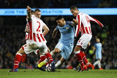 Manchester City drop crucial points at home against Stoke