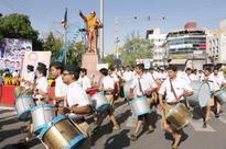 Swayamsevaks sing RSS anthem for Baba Saheb