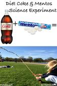 Diet Coke and Mentos Science Experiment