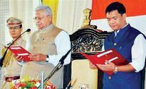 Arunachal Pradesh: Pema Khandu takes oath, promises the works