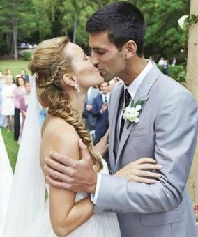Djokovic not as smooth on romantic dates as on tennis court...
