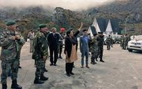 When Nirmala Sitharaman waved at a row of Chinese soldiers across the border