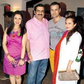 Rohit and Manasi Roy at the launch of Manish Goswami's new show