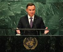 Polish President Duda: If not now, when?