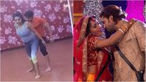 Watch video: 'Bigg Boss 10' contestant Mona Lisa has already started rehearsing for Nach Baliye 8 with her husband!
