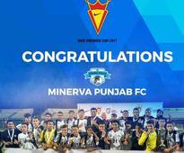 Minerva Punjab FC win Nike Premier Cup 2017
