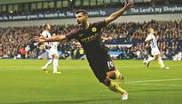 Aguero double ends Guardiola barren run