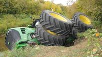 Stolen tractor 'ditched' near Dauphin, Man., RCMP investigating