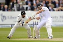 New Zealand shows control in first innings of England Test