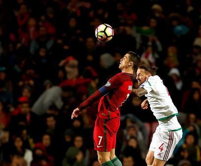 PHOTOS: Ronaldo takes Portugal tally to 70, Bulgaria shock Dutch