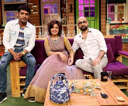 PIX: Irrfan, Sunidhi on The Kapil Sharma Show