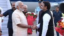 LIVE   Prime Minister Narendra Modi reaches Lucknow to celebrate Dussehra