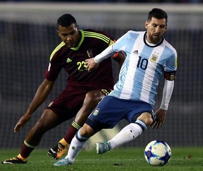 PHOTOS WC qualifiers: Argentina held; Cape Verde shock SA