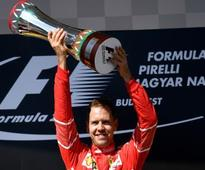 Hungarian Grand Prix: Sebastian Vettel leads dominant Ferrari one-two, Lewis Hamilton finishes fourth