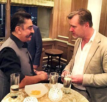 Shah Rukh, Kamal Haasan meet Christopher Nolan