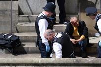 Tourist falls off Westminster Bridge 'while taking photos'
