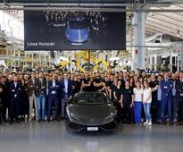 Lamborghini Huracan Has Crossed The 8000 Production Units