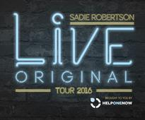 Exclusive Interview with Sadie Robertson, Live Original Tour