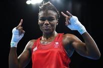 British boxing heroine Adams coy on future