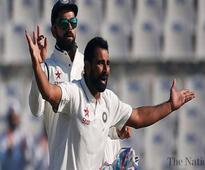 India's Shami, Saha to miss final England Test