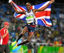 British Olympic gold medallist Mo Farah has no regrets on calling time on glittering track career
