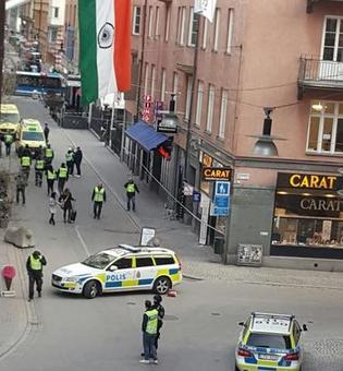 Stockholm: 3 killed as truck crashes into store near Indian Embassy