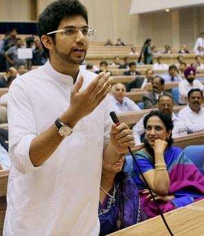 Aaditya elevated as Sena 'leader'; becomes part of core team
