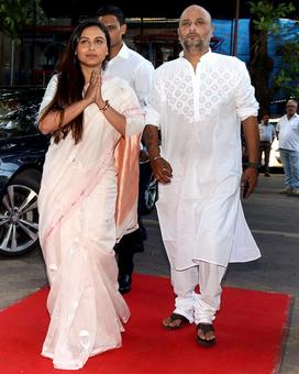 Bachchans, Ranveer grieve with Rani Mukerji